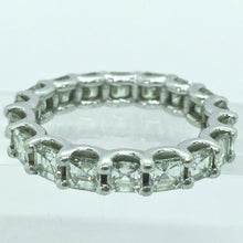 Load image into Gallery viewer, Fine 5.00 Carat Wedding  Anniversary Diamond Eternity Band Ring Size 8
