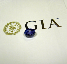 Load image into Gallery viewer, Loose 6.43ct GIA Color Change Blue Sapphire Natural Untreated