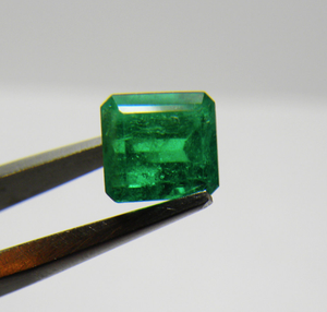 Loose 1.54 Ct Fine AAA++ Quality Colombian Emerald 6.7x6.2x4.8mm