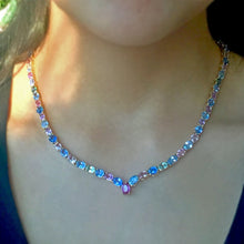 Load image into Gallery viewer, Fine 50.00 Carats Natural Multi-Colored Sapphire Necklace 18k