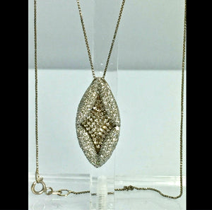 Antique Style Diamond Pendant Gold