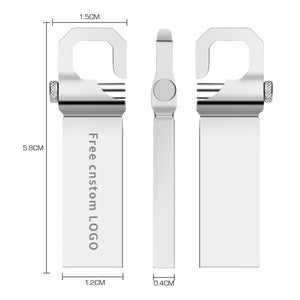 Pen Drive Metal de 4GB a 128GB
