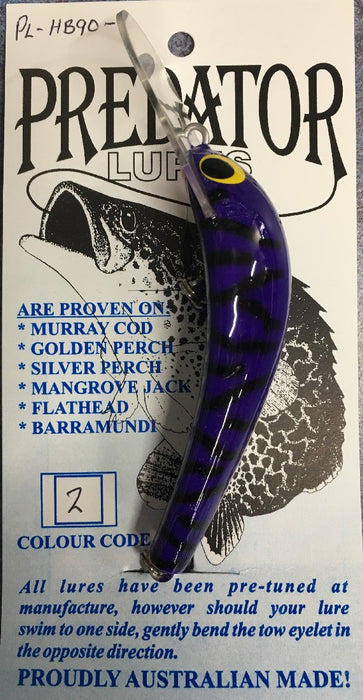 PREDATOR LURE HARDBODY 90MM 2
