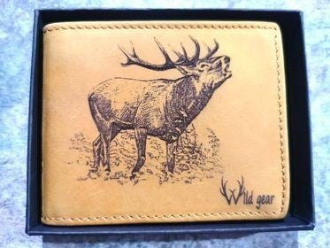 WILD GEAR MENS WALLET - RED STAG 1