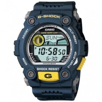 CASIO G-SHOCK TIDE RESIN BAND BLUE