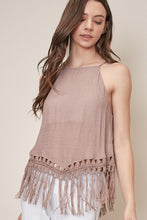 FLEETWOOD FRINGE TANK TOP