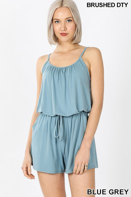 COMFY ROMPER WITH POCKETS