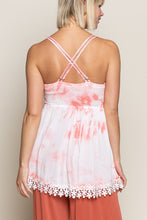 CRISS-CROSS BABYDOLL TOP