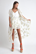 PAPILLON LOOSE FIT KIMONO COVER UP