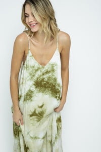 TIE DYE POCKET DRESS