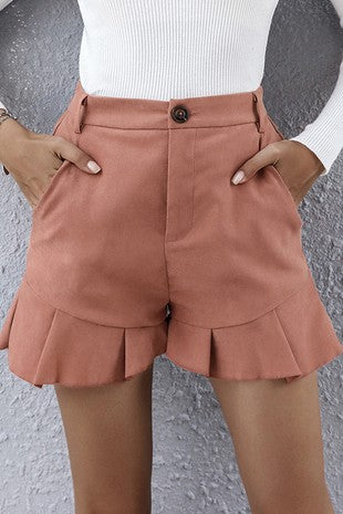 FAIRBANKS RUFFLE SHORTS