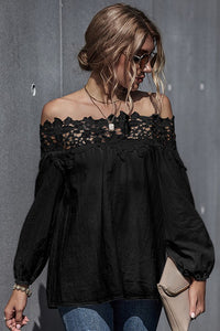 ADELE LACE TOP
