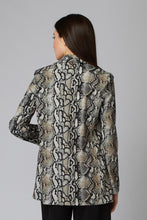SNAKESKIN PATTERN JACKET
