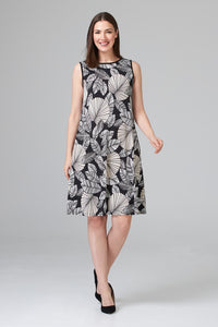 TEXTURED LEAF DRESS