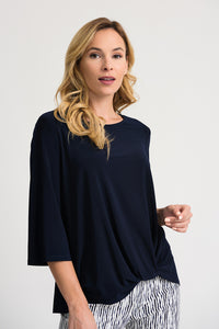 KNOTTED HEM TOP