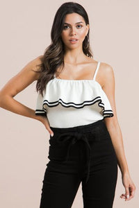SIMONE SAILOR TANK TOP