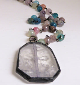 STONE BEAD NECKLACE