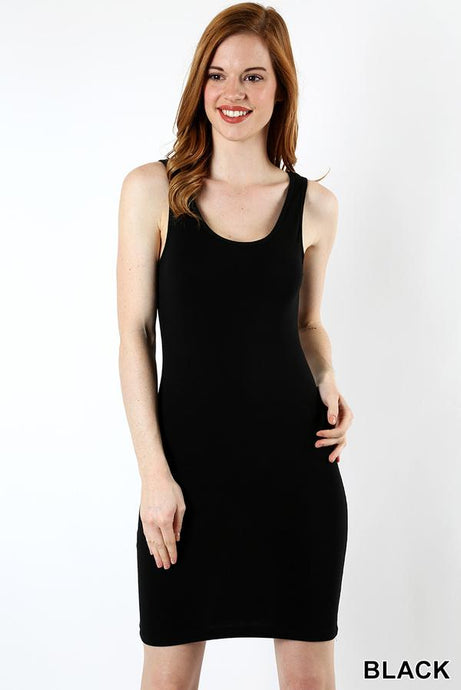 BODYCON TANK DRESS