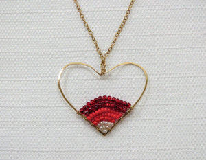 HEART BEAD NECKLACE