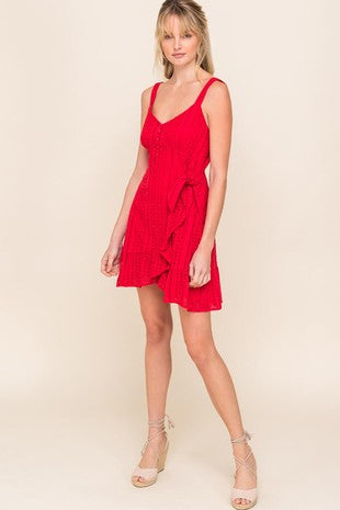 ROBBIN RED DRESS