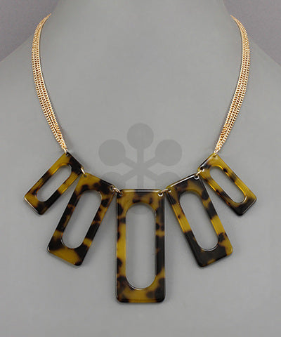 TORTOISE SHELL NECKLACE