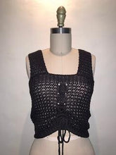 PRANA CROCHET CROP TOP