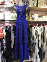 ROYAL LACE AND DIAMOND GOWN
