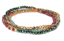 BEADED STRETCH WRAP BRACELET