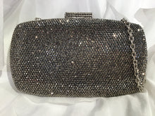 HEMATITE SEQUIN CLUTCH