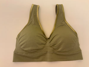 GOLD LINE SPORTY BRA