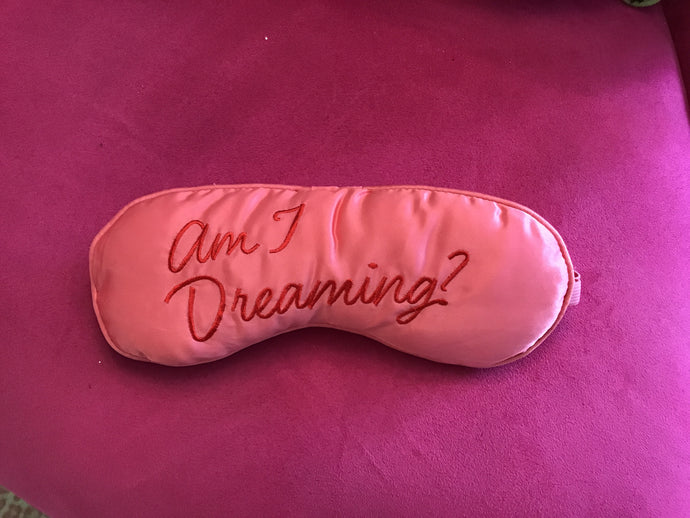 PINK DREAMING SLEEP MASK