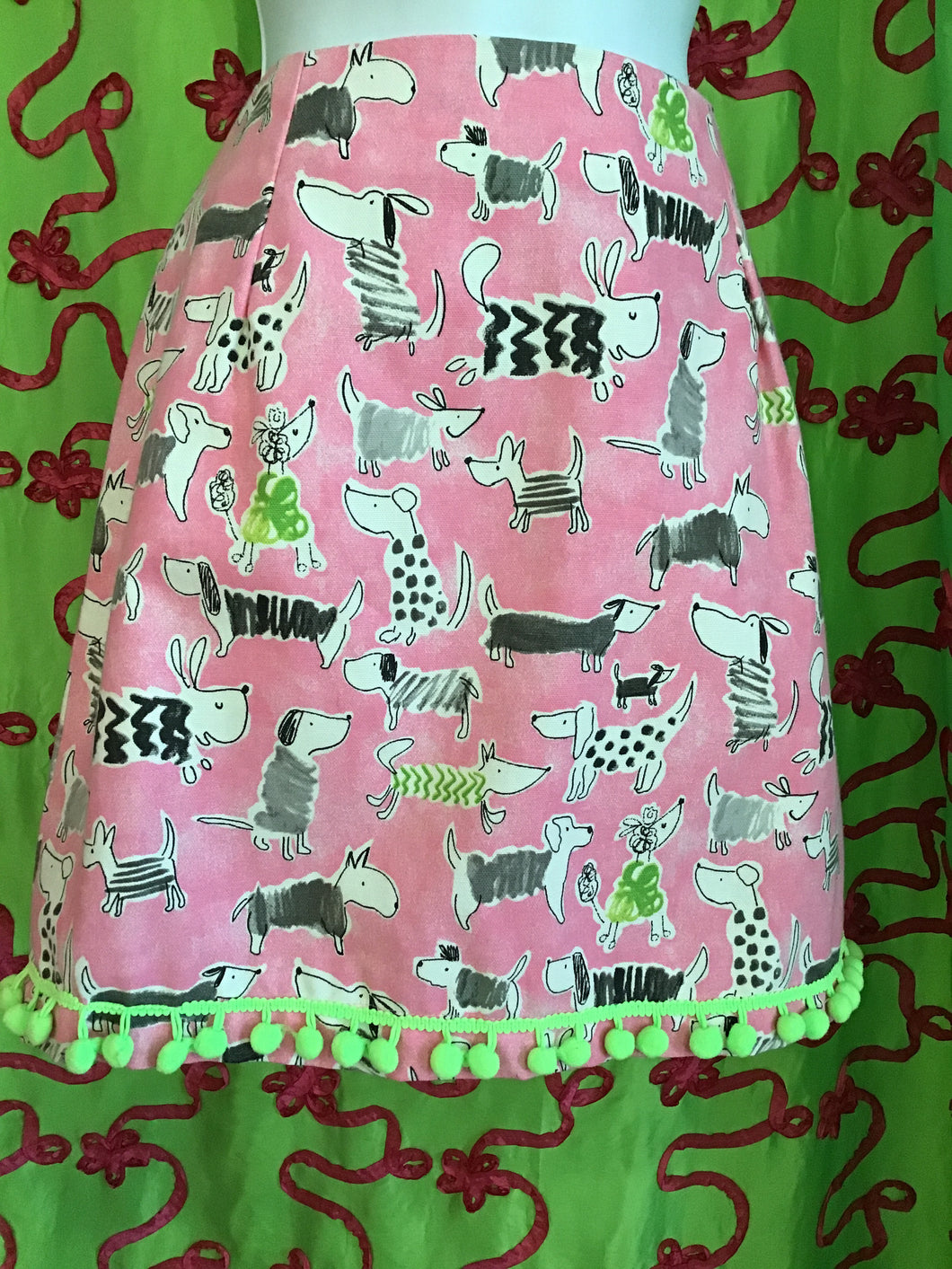 PRETTY IN PINK ADOGABLE SKIRT