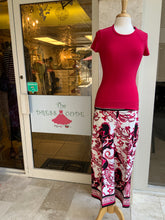 PINK SCROLL PANT