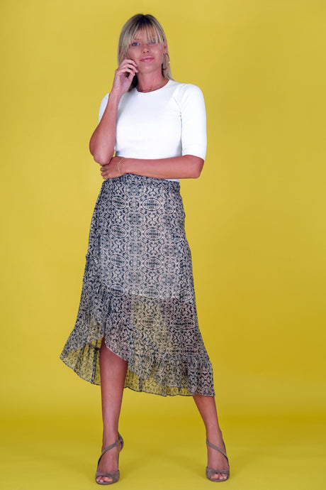 MEDALLION SKIRT