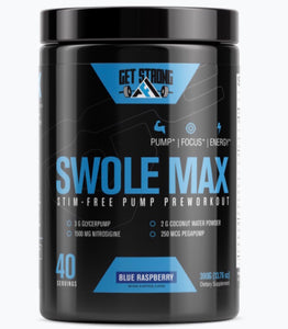 Swole Max Blue Raspberry