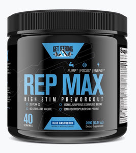 Rep Max High Stim Preworkout