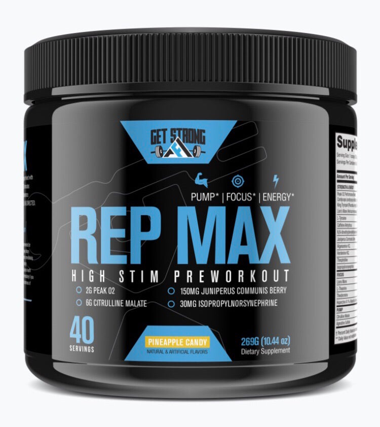 Rep Max - Get Strong AF Supplements