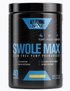 Swole Max Preworkout Supplement