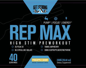 Rep Max & Swole Max Combo - Get Strong AF Supplements