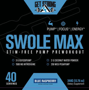 Swole Max Dietary Supplement