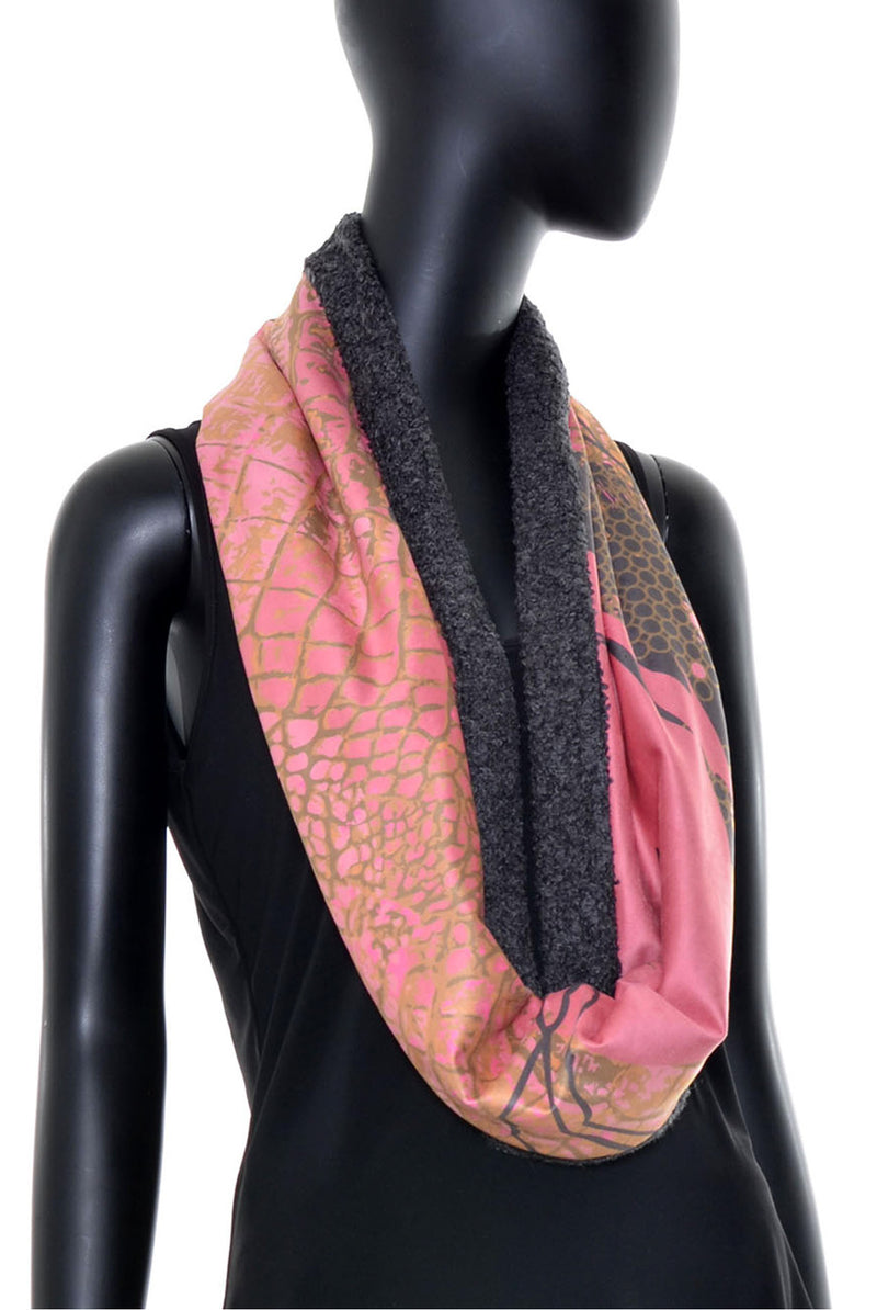 Foulard tube réversible no.382