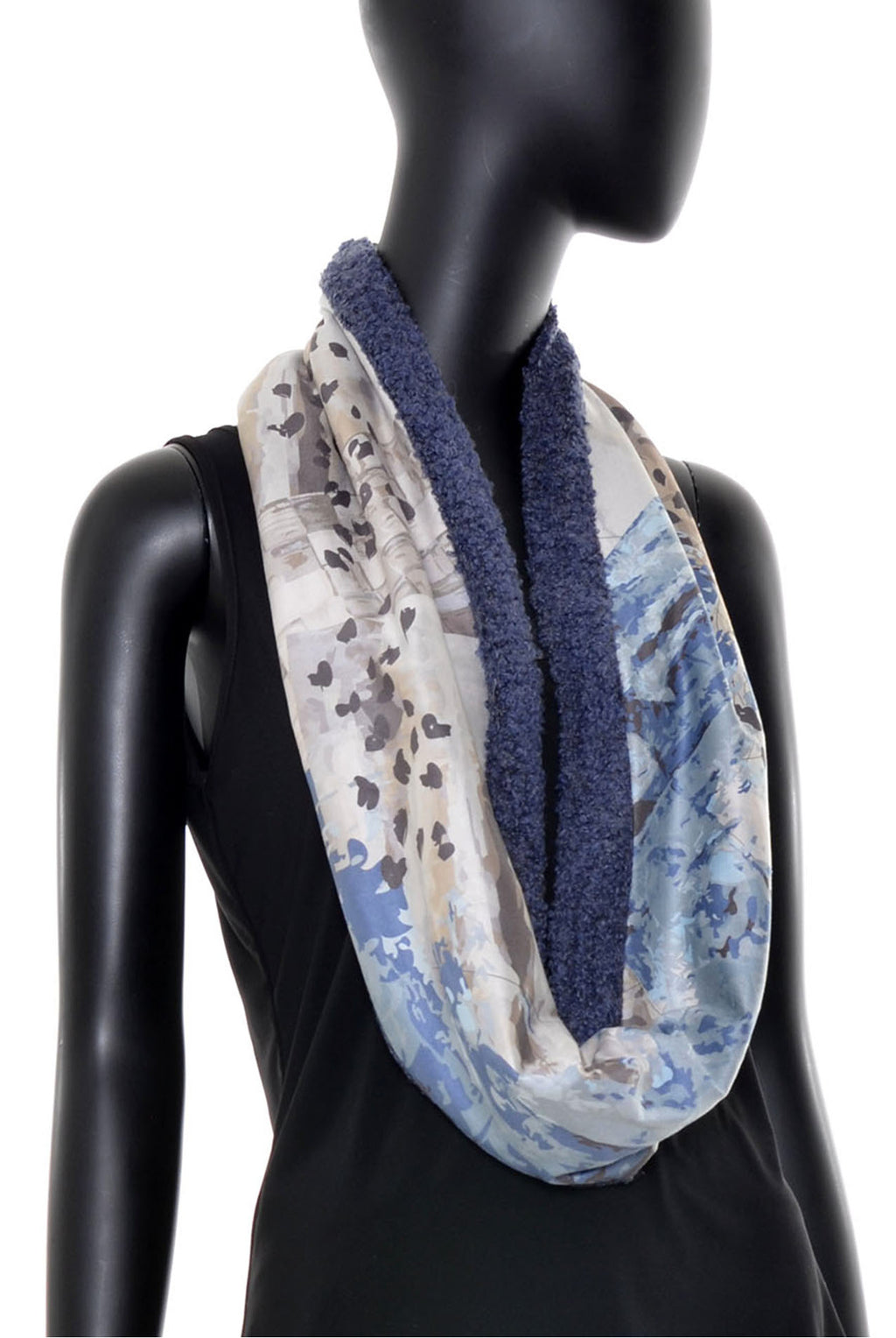 Foulard tube réversible no.383