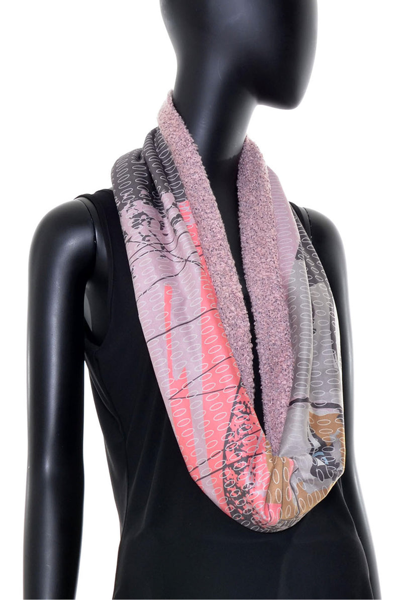 Foulard tube réversible no.384