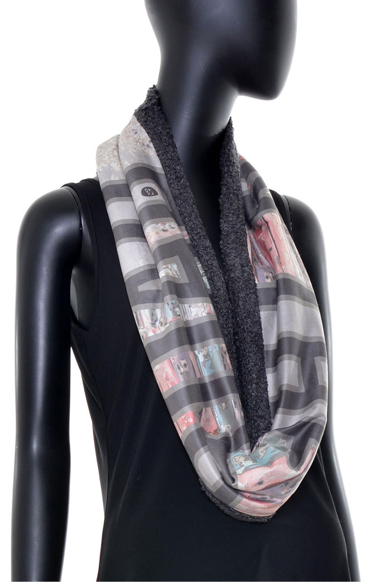 Foulard tube réversible no.385
