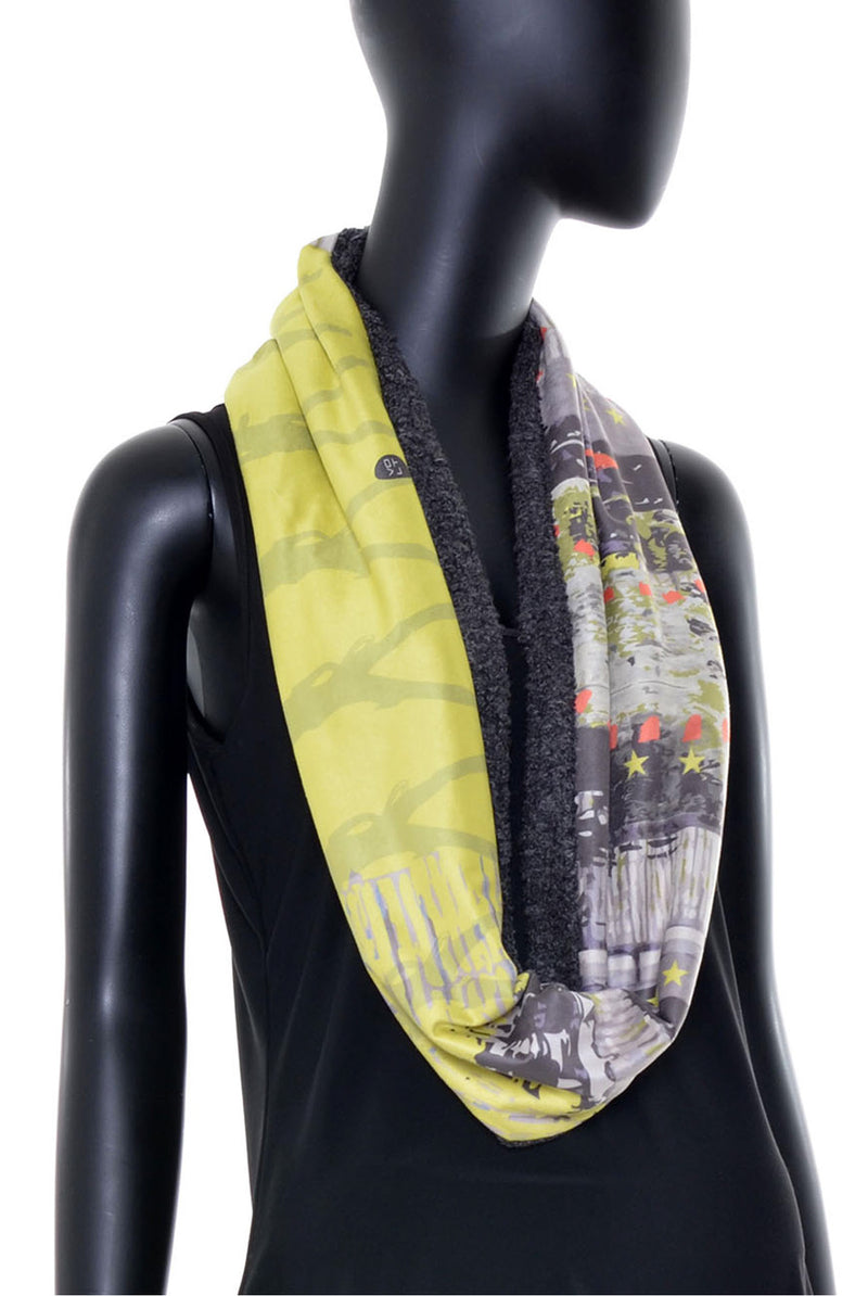 Foulard tube réversible no.388