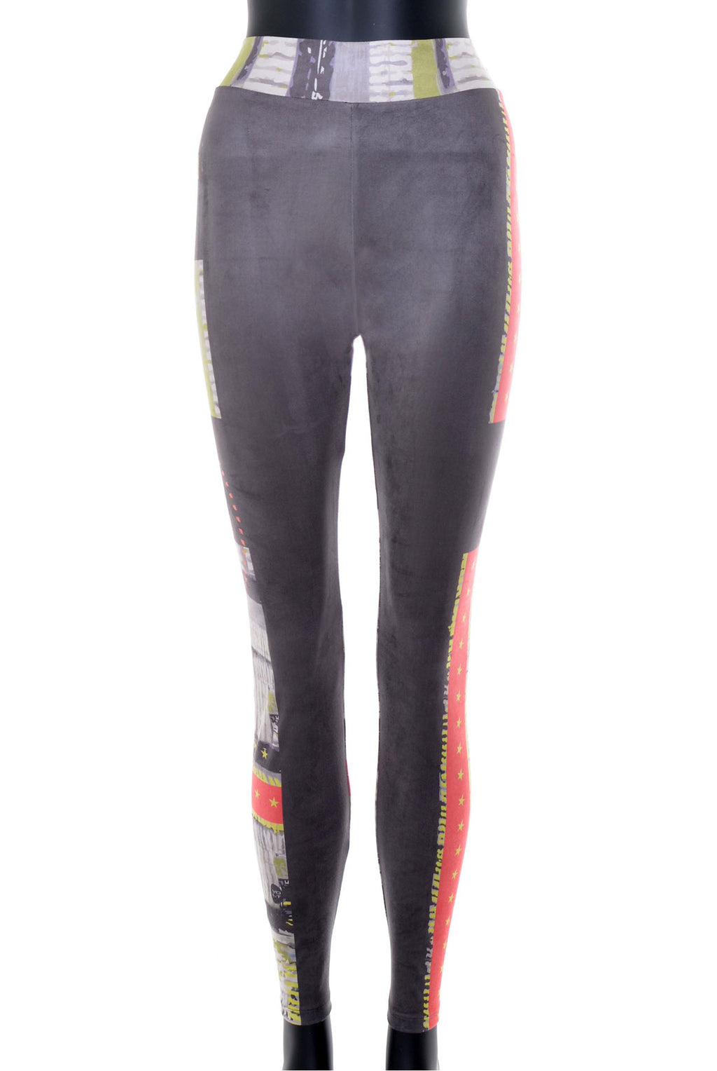 Leggings effet suede no.388