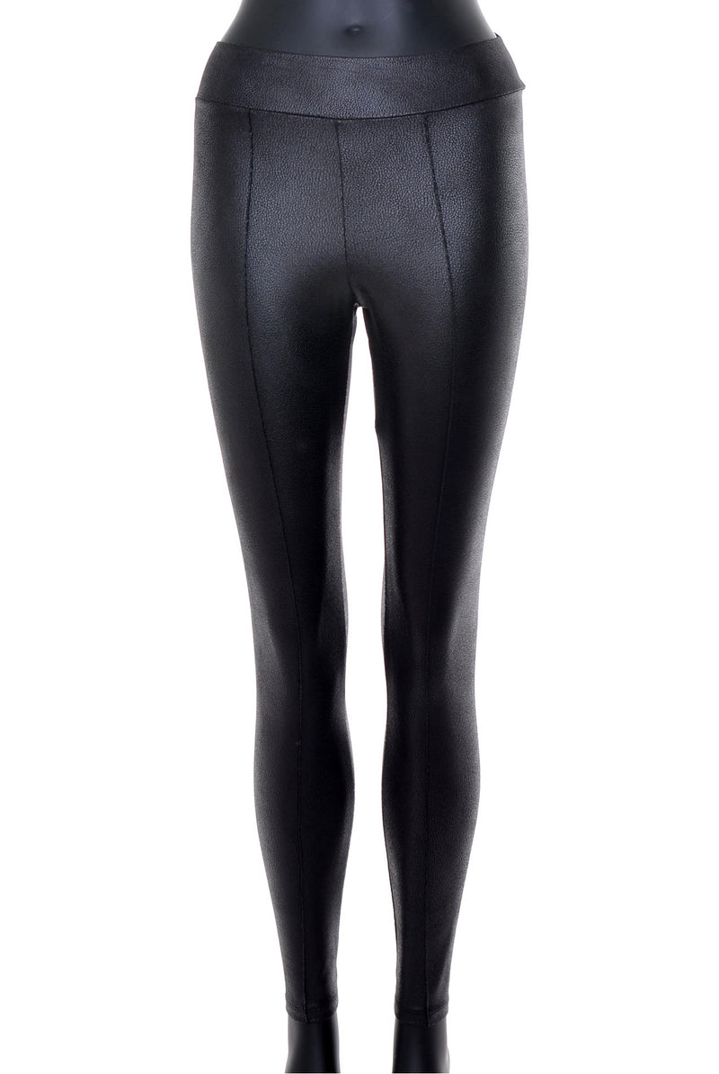 Leggings cuir «vegan» no.389