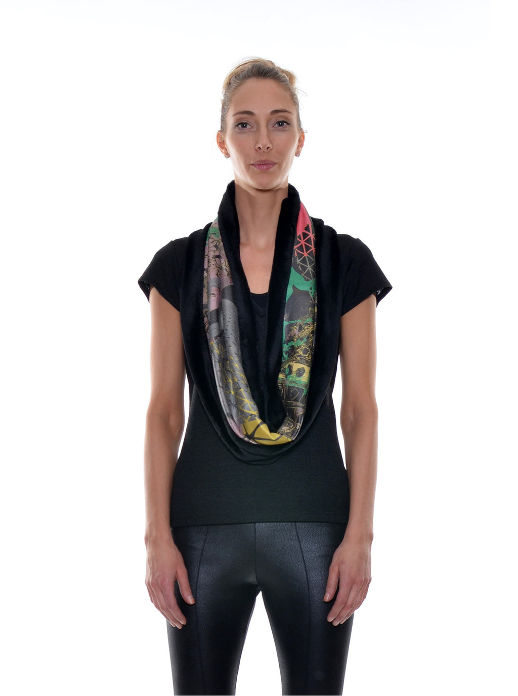 Foulard Tube Réversible no.401