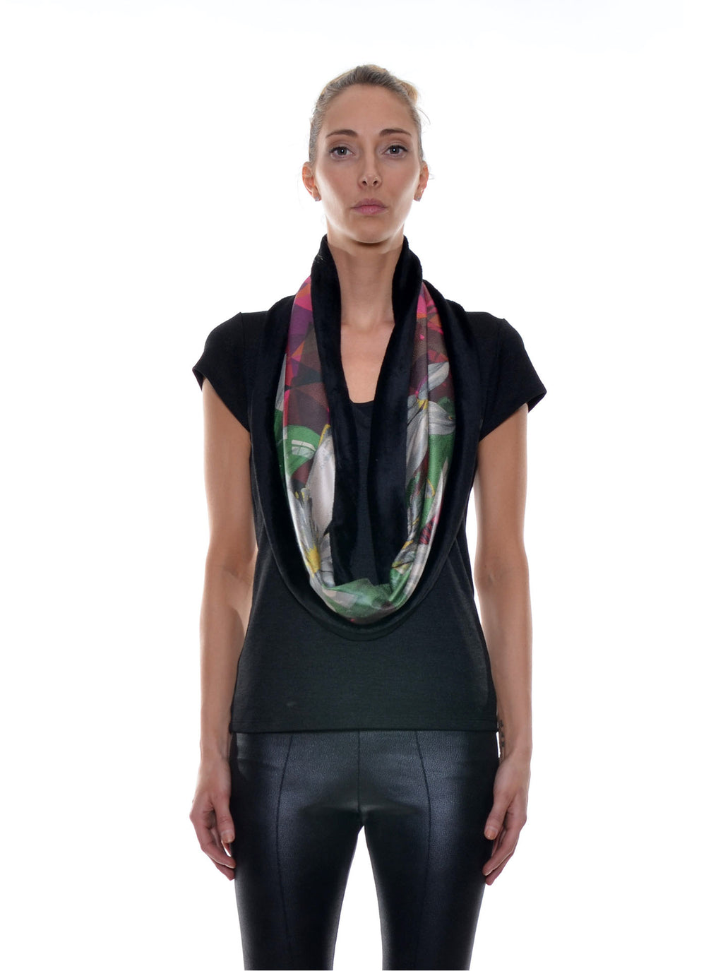Foulard Tube Réversible no.402