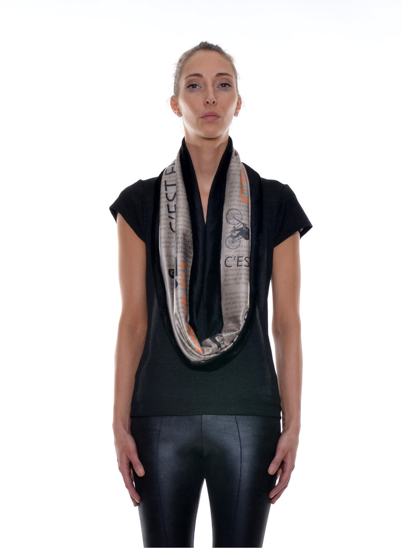 Foulard Tube Réversible no.403